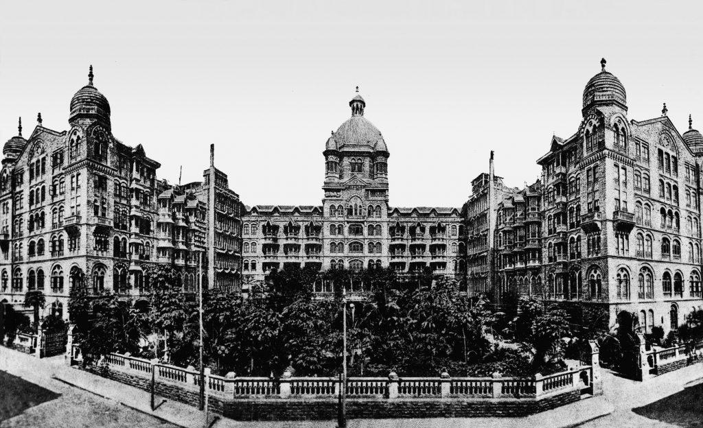 Back side Taj Hotel old pic