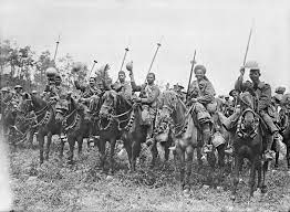 cavalry Unit of British Indian army